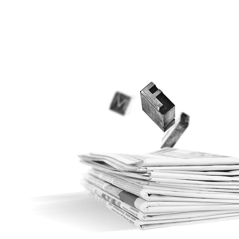 Zeitungen für die Medienarbeit